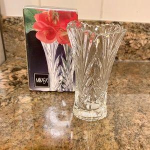 MIKASA Crystal Bud Vase